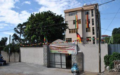 Einweihung neues Tagesheim in Addis Abeba