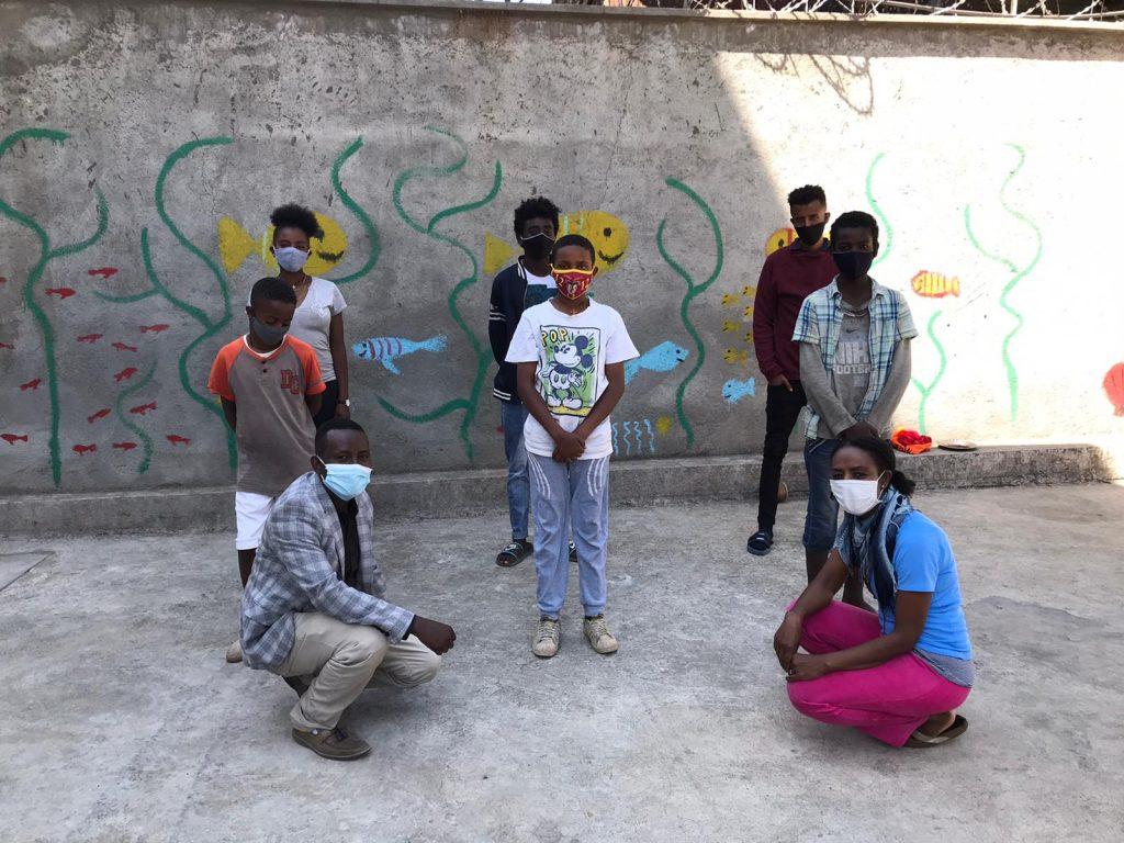 Direkte Kinderhilfe Äthiopien Corona