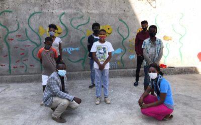 Etagegne zu Besuch in Addis